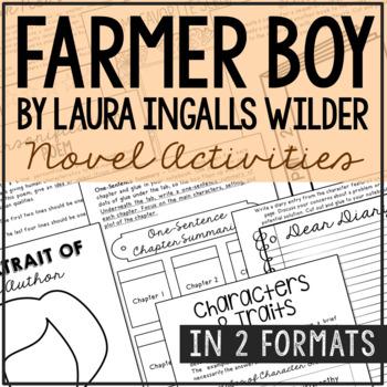 Farmer Boy by Laura Ingalls Wilder Interactive Notebook No
