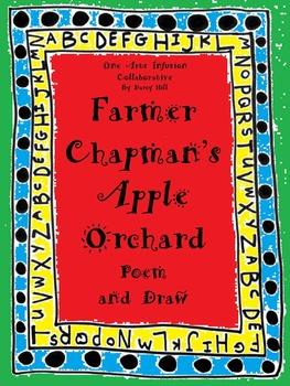 Farmer Chapman's Apple Orchard Poem and Draw