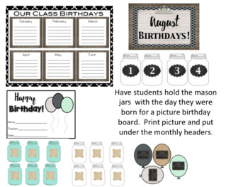 Farmhouse Birthday Kit 2 *Editable*