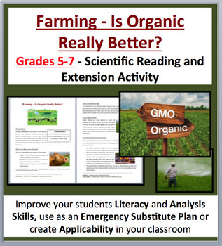 Farming – Is Organic Really Better? - Science Reading Arti