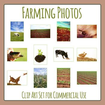 Farming and Agriculture Photos / Photographs Clip Art for