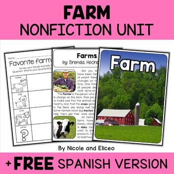 Nonfiction Farm Unit Activities