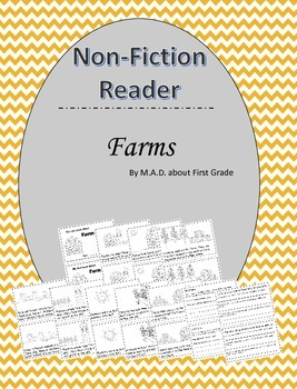 Farms Nonfiction Book with Close Activities