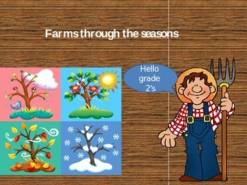 Farms through the seasons