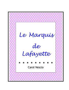 Le Marquis de Lafayette * Pac