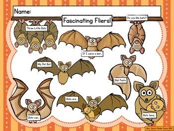 Fascinating Fliers!  Bat Writing Journal