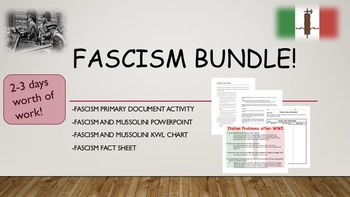 Fascism Bundle
