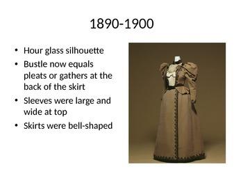 Fashion History: Women's Fashion from 1870 - 1890