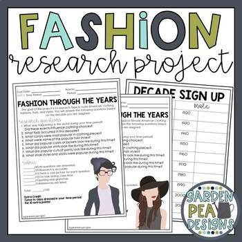 Fashion Research Project