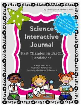 Landslides, Earthquakes & Volcanoes- Science Interactive N