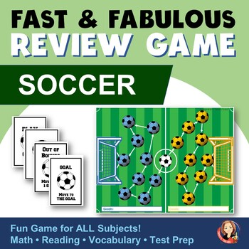 Fast & Fabulous Flash Card Review Game - Soccer