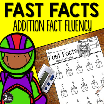 Fast Facts {Addition Fact Family Tests}