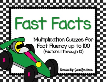 Fast Facts! Multiplication Fact Fluency