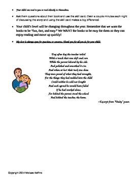 Fast Facts for Parents about 100 Book Challenge