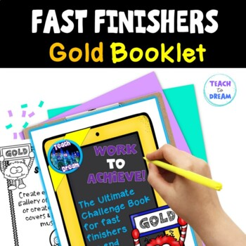 Fast Finishers Tasks or End of Term: Ultimate Challenge Bo
