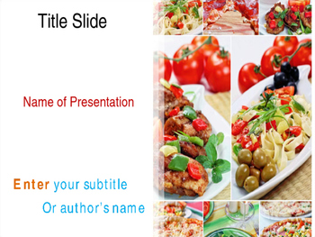 Fast Food PPT Template