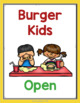 Fast Food Restaurant Dramatic Play Center