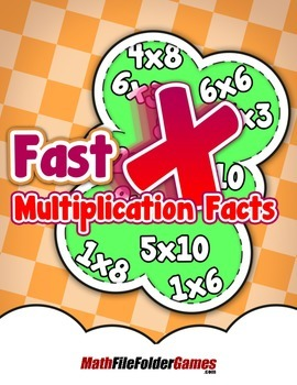 Fast Multiplication Facts {Mental Math Classroom Game}