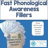 Fast Phonological Awareness Fillers