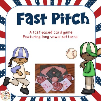Fast Pitch {A Fast Paced Long Vowel Patterns Game}