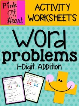 Math Word Problems: 1-Digit Addition