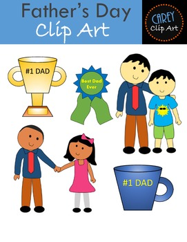 Father's Day Clip Art Pack