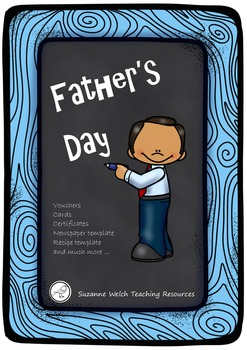 Father's Day Fun - cards, certificates, vouchers, recipe w