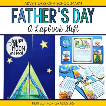 Father's Day Gift - A Lapbook Craft for Upper Elementary