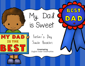 Father's Day Simile Booklet