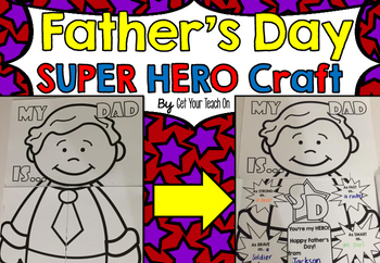 Father's Day Super Hero Craft