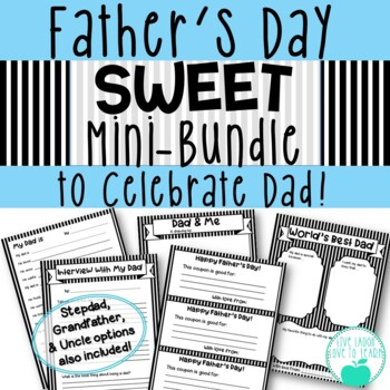 Father's Day Sweet Mini-Bundle of Activities to Celebrate Dad!