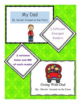 Father's Day(2 Emergent Readers)