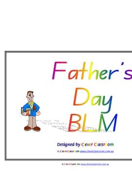 Father's Day BLM eBook Thematic Unit - 50pgs