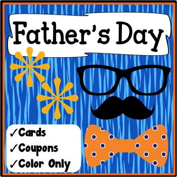 Father's Day Activities {Father's Day Cards and Coupons}