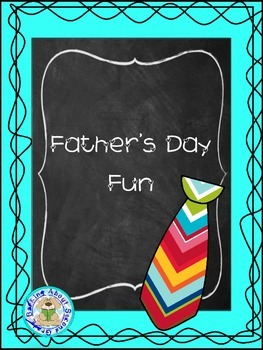 Father's Day Craft Booklet
