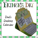Father's Day Craft - Desktop Calendar