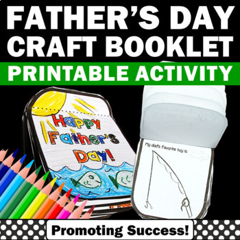 Father's Day Foldable Gift Card (Fathers Day) Craftivity