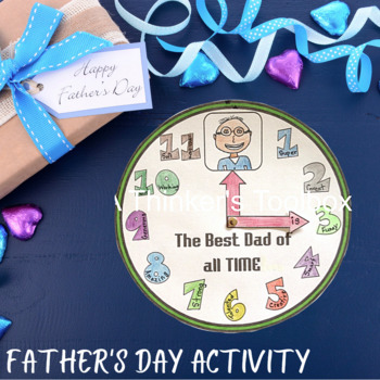 Father's Day Craft - The Best Dad Of All Time