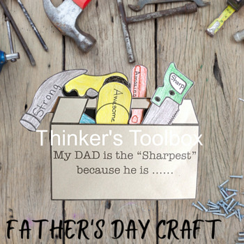 Father's Day Craft - Toolbox and Briefcase