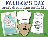 Father's Day Craft and Writing Activity: Chef Theme