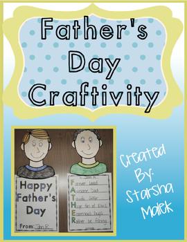 Father's Day Craftivity (S.Malek)