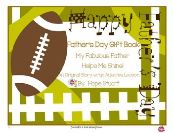 Father's Day Gift Idea Book Packet:  My Fabulous Father He