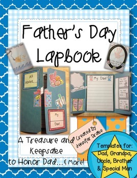 Father's Day Lapbook! A Treasure & Keepsake to Honor Dad,
