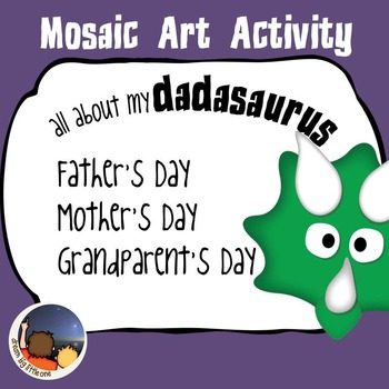 Father's Day / Mother's Day Mosaic Art Activity