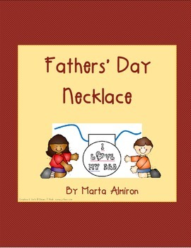 Fathers' Day Necklace