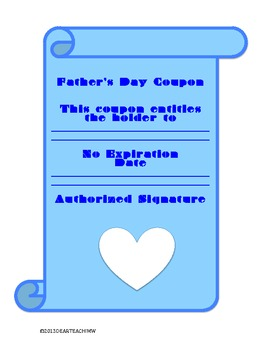 Father's Day Scroll