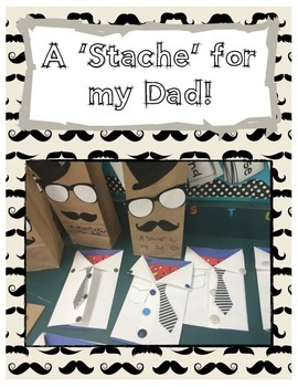 Father's Day Superman Card & a 'Stache' for my Dad Package!