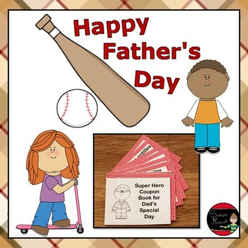 Father's Day Writing Activities and Coupons
