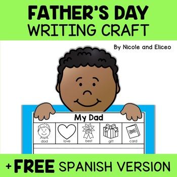 Fathers Day Beginner Writer Craft Activity