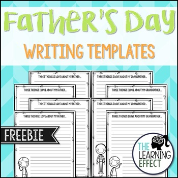 Father's Day Writing - FREE